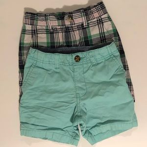 Janie and Jack X Carter's Shorts Budle